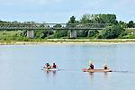 Canoë-Kayak sur la Loire à Montsoreau (49).