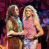 Rock of Ages<br /> by Chris D'Arienzo<br /> directed by Kristin Hanggi<br /> Choreography by Kelly Devine<br /> Press photocall<br /> 14th September 2011 <br /> at The Shaftesbury Theatre, London, Great Britain <br /> <br /> Justin Lee Collins (as Dennis Dupree)<br /> Shayne Ward (as Stacee Jaxx)<br /> <br /> Photograph by Elliott Franks