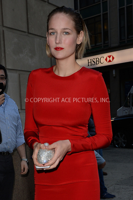 WWW.ACEPIXS.COM<br /> May 7, 2015 New York City<br /> <br /> Leelee Sobieski seen walking in Midtown Manhattan in New York City on May 7, 2015.<br /> <br /> By Line: Kristin Callahan/ACE Pictures<br /> ACE Pictures, Inc.<br /> tel: 646 769 0430<br /> Email: info@acepixs.com<br /> www.acepixs.com