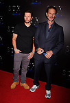 LAS VEGAS, NV - MARCH 28: Actor Mark Wahlberg (L) and director Peter Berg at CinemaCon 2017 The State of the Industry: Past, Present and Future and STXfilms Presentation at The Colosseum at Caesars Palace during CinemaCon, the official convention of the National Association of Theatre Owners, on March 28, 2017 in Las Vegas, Nevada.