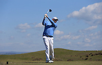 David George during Round Two of the West of England Championship 2016, at Royal North Devon Golf Club, Westward Ho!, Devon  23/04/2016. Picture: Golffile | David Lloyd<br /> <br /> All photos usage must carry mandatory copyright credit (&copy; Golffile | David Lloyd)