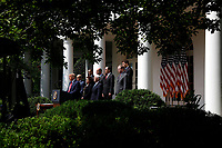 United States President Donald J. Trump delivers remarks before signing H.R. 7010 - PPP Flexibility Act of 2020 in the Rose Garden of the White House in Washington, DC on June 5, 2020.<br /> Credit: Yuri Gripas / Pool via CNP/AdMedia