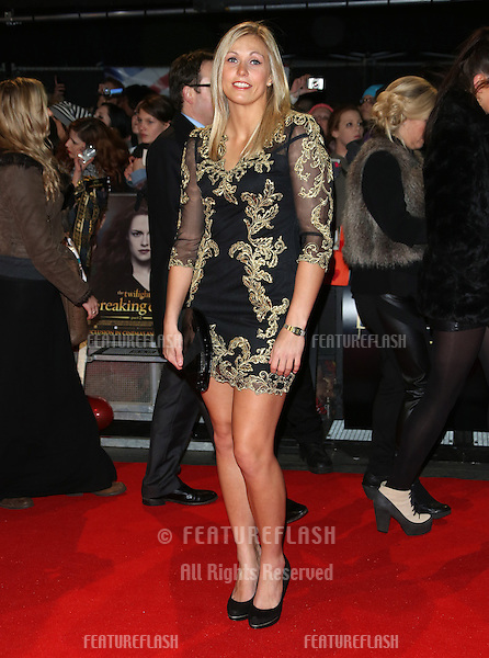 "Gemma Gibbons arriving for the ""The Twilight Saga: Breaking Dawn Part 2"" premiere at the Odeon Leicester Square, London. 14/11/2012 Picture by: Henry Harris / Featureflash"