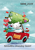 Roger, CHRISTMAS ANIMALS, WEIHNACHTEN TIERE, NAVIDAD ANIMALES, paintings+++++,GBRM2199,#xa#