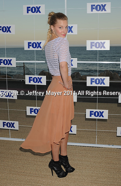 MALIBU, CA - AUGUST 05: Heather Morris attends the Fox All Star Party 2011 at Gladstone's Malibu on August 5, 2011 in Malibu, California.