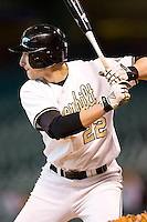Vanderbilt's Ryan Flaherty (22) at bat versus Arizona State at the 2007 Houston College Classic at Minute Maid Park in Houston, TX, Saturday, February 10, 2007.  The Commodores defeated the Sun Devils 7-6 in 10 innings.