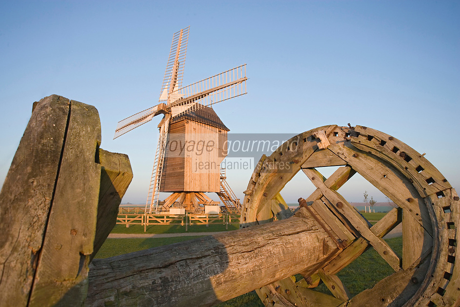 Europe/France/Champagne-Ardenne/Marne/Valmy : le moulin de Valmy