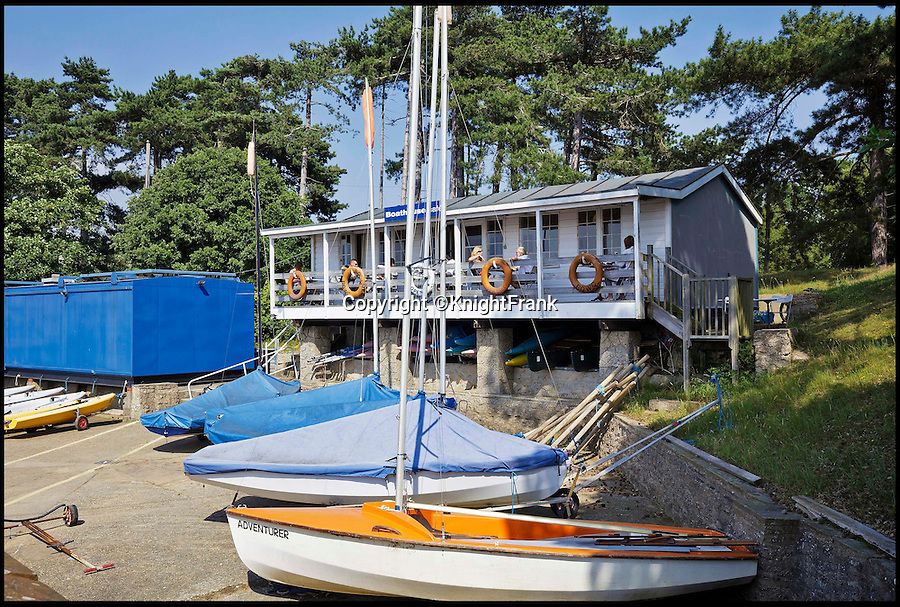 BNPS.co.uk (01202 558833)<br /> Pic: KnightFrank/BNPS<br /> <br /> Boathouse Cafe by the river Deben.<br /> <br /> Making waves - Seaside Suffolk mansion that was in the frontline of the top secret battle to defeat the luftwaffe during WW2 is on the market.<br /> <br /> A stunning Grade II* listed coastal manor house which was Britain's first radar station and survived multiple Luftwaffe attacks is now up for grabs.<br /> <br /> Bawdsey Manor is a home fit for royalty - a grand 144-acre estate on the Suffolk coast with a mansion that looks like the Queen's much-loved Sandringham House nearby.<br /> <br /> The impressive property, which also comes with quayside cottages and even has its own beach access, is on the market with estate agents Knight Frank with a guide price of £5million.