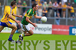 Declan O'Sullivan, Kerry in action against  , Clare in the Munster Senior Championship Semi Final in Cusack Park, Ennis on Sunday.