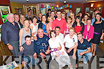 Martin Kissane, Knockeragh, Killarney, second from right, pictured with family and friends as he celebrated his 50th birthday in Corkerys Bar, Killarney, on Friday night...