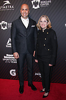 NEW YORK, NY - DECEMBER 5:  Carlos Beltran and Mayor of San Juan, Puerto Rico Carmen Yulin Cruz  at the 2017 Sports Illustrated Sportsperson Of The Year Awards at Barclays Center on December 5, 2017 in New York City. Credit: Diego Corredor/MediaPunch /NortePhoto.com NORTEPHOTOMEXICO