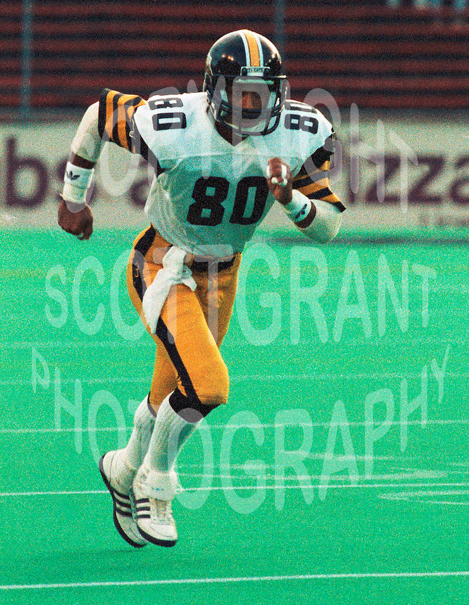 Steve Stapler HamiltonTiger Cats. Copyright photograph Scott Grant