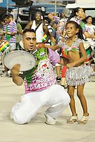 SÃO PAULO, SP, 04 DE FEVEREIRO DE 2012 - ENSAIO MORRO DA CASA VERDE - Ensaio técnico da Escola de Samba Morro da Casa Verde na preparação para o Carnaval 2012. O ensaio foi realizado neste sabado (04) no Sambódromo do Anhembi, zona norte da cidade. FOTO: LEVI BIANCO - NEWS FREE