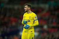 Tottenham's Hugo Lloris during the Premier League match between Tottenham Hotspur and West Bromwich Albion at Wembley Stadium, London, England on 25 November 2017. Photo by Andrew Aleksiejczuk / PRiME Media Images.