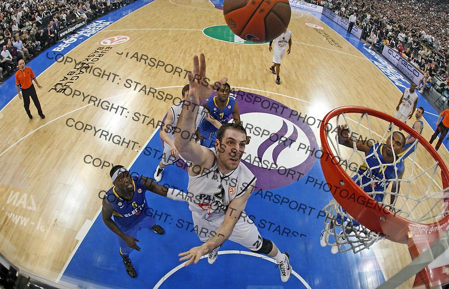 Maric Aleks Alex Remote Sport Basketball Kosarka Partizan Makabi Maccabi Euroleague Evroliga Beogradska Arena Beograd Srbija 30.3.2010. photo: Pedja Milosavljevic / +381 64 1260 959 / thepedja@gmail.com / STARSPORT|