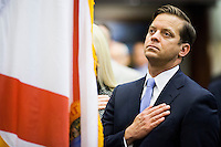 TALLAHASSEE, FLA. 3/4/14-Lt. Gov. Carlos Lopez-Cantera during the opening day of the legislative session, March 4, 2014 at the Capitol in Tallahassee.<br /> <br /> COLIN HACKLEY PHOTO