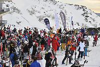 PERISHER VALLEY, AUSTRALIA, 12 September 2008 - Australian Interschools Snowsports Championships held at Perisher Valley, NSW on 12 September 2008. Photo by Sydney Low / AsteriskImages.com