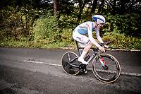 Bob Jungels (LUX/Deceuninck - Quick Step)<br /> Elite Men Individual Time Trial<br /> from Northhallerton to Harrogate (54km)<br /> <br /> 2019 Road World Championships Yorkshire (GBR)<br /> <br /> ©kramon