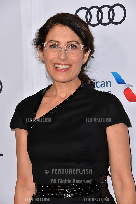 """LOS ANGELES, CA. November 10, 2018: Lisa Edelstein at the AFI Fest 2018 world premiere of """"The Kominsky Method"""" at the TCL Chinese Theatre.<br /> Picture: Paul Smith/Featureflash"""