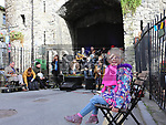 Aoife Fahy at Music at the Gate, Laurence's Gate<br /> <br /> <br /> photo - Jenny Matthews