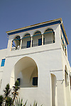 Israel, house of Abbud, the Bahai center in the Old City of Acco