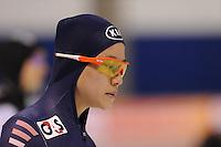 SCHAATSEN: CALGARY: Olympic Oval, 09-11-2013, Essent ISU World Cup, 500m, Bo-Ra Lee (KOR), ©foto Martin de Jong