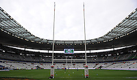 15th March 2014; General view of the pitch ahead of the game. RBS Six Nations, France v Ireland, Stade de France, St Denis, Paris. Picture credit: Tommy Grealy/actionshots.ie.