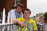 Matthew O'Connor with his mother Karen Lonergan O'Connor from Rathoonane who has changed his life around since partaking in the Kerry Youth Justice Programme.