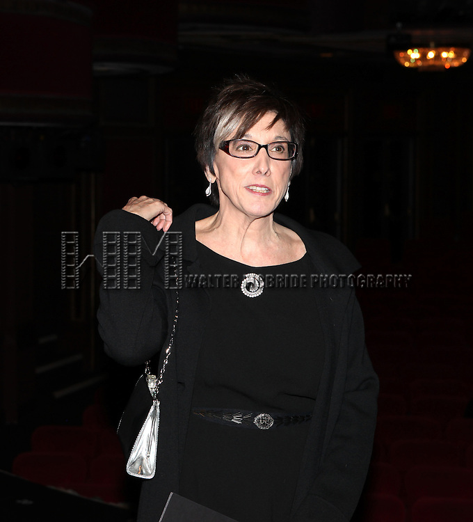 Robyn Goodman attending The Broadway Opening Night Performance Gypsy Robe Ceremony honoring recipient Linda Mugleston for  'Rogers + Hammerstein' s Cinderella' at the Broadway Theatre in New York City on 3/3/2013