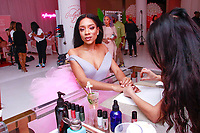 NEW YORK, NY - FEBRUARY 5: Lil Mama - Niatia Jessica Kirkland  at Urban Skin RX Valentine&rsquo;s Day Spa Party hosted by Eva Marcille and Rachel Roff at Pure Space  on February 5, 2019 in New York City. <br /> CAP/MPI/DC<br /> &copy;DC/MPI/Capital Pictures