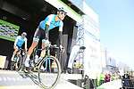 Magnus Cort Nielsen (DEN) Astana Pro Team at sign on before the 2019 E3 Harelbeke Binck Bank Classic 2019 running 203.9km from Harelbeke to Harelbeke, Belgium. 29th March 2019.<br /> Picture: Eoin Clarke | Cyclefile<br /> <br /> All photos usage must carry mandatory copyright credit (© Cyclefile | Eoin Clarke)