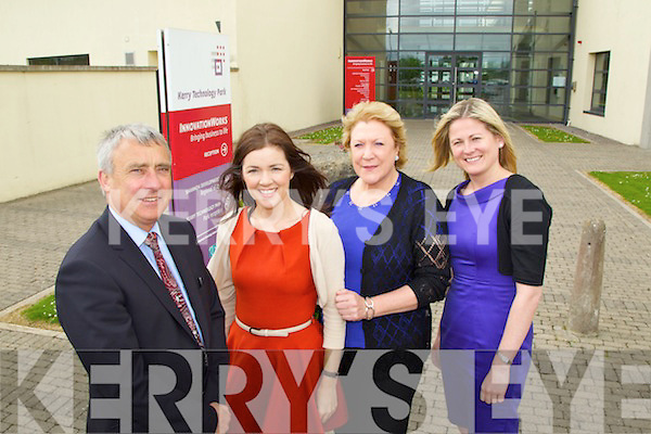 Staff at Shannon Development at Kerry technology park from left Ogie Moran, Marie Lynch, Mary Dolan and Siobhan Naughton.