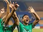 05.09.2017, Stadion, Tianjin, CN. 13. Nationalen Chinesischen Fussballspielen, Zhejiang vs Hubei, im Bild , <br /> <br /> <br /> im Bild Yuning Zhang (Werder Bremen #19) im Halbfinale im gr&uuml;nen Trikot - wie bei seinem Werder Bremen mit der Rueckennummer 10 - Jubel Zhang nach dem Spiel<br /> <br /> Foto &copy; nordphoto / Oscar <br /> ++++ Attention ++++ ALL RIGHTS RESERVED Kein -Facebook -Twitter -Instagram -Social Media Web, keine online Galerie Pauschale,  Honorar und Belegexemplar Star People