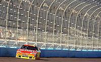 Apr 17, 2009; Avondale, AZ, USA; NASCAR Sprint Cup Series driver Jeff Gordon during qualifying for the Subway Fresh Fit 500 at Phoenix International Raceway. Mandatory Credit: Mark J. Rebilas-