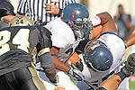 Palos Verdes CA 10/22/10 - Anthony Williams (Leuzinger #20) in action during the Leuzinger - Peninsula varsity football game at Palos Verdes Peninsula High School.