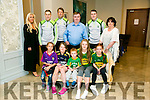 l-r  Jack Collins, Laura Moriarty, Aine Donegan, Aoife Donegan and Sarah Moriarty. Back l-r Sandra Horan, Peter Crowley, Donnacha Walsh, Dan Horan  Mark Griffin and Mary McElligott
