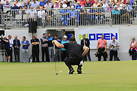 Scott Henry (SCO) on the 18th green during Sunday's Final Round of the Northern Ireland Open 2018 presented by Modest Golf held at Galgorm Castle Golf Club, Ballymena, Northern Ireland. 19th August 2018.<br /> Picture: Eoin Clarke | Golffile<br /> <br /> <br /> All photos usage must carry mandatory copyright credit (&copy; Golffile | Eoin Clarke)