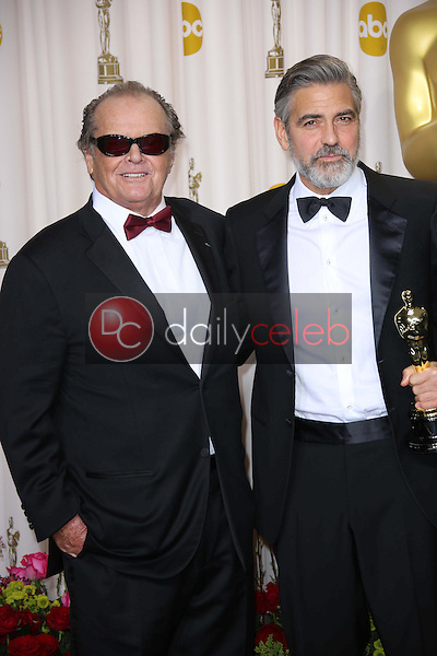 Jack Nicholson, George Clooney<br />