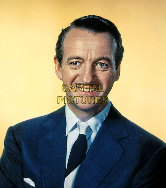 David Niven<br /> *Filmstill - Editorial Use Only*<br /> CAP/NFS<br /> Image supplied by Capital Pictures