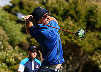 George Wardell of Bay of Plenty. Day One of the Toro Interprovincial Men's Championship, Mangawhai Golf Club, Mangawhai,  New Zealand. Tuesday 5 December 2017. Photo: Simon Watts/www.bwmedia.co.nz