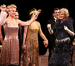 Blythe Danner Returns to Broadway: Kelli O'Hara, Blythe Danner.during the Curtain Call for 'Nice Work If You Can Get It'  at the Imperial Theatre in New York City on December 19, 2012