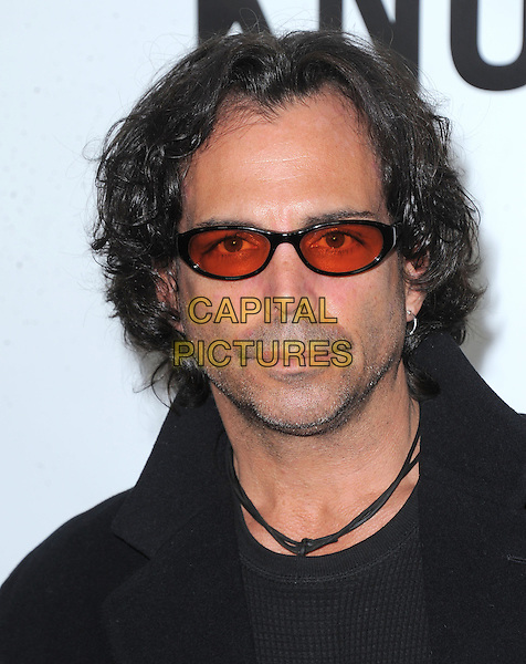 "Richard Grieco .""This Is 40"" Los Angeles Premiere held at Grauman's Chinese Theatre, Hollywood, California, USA..December 12th, 2012.headshot portrait black red tinted glasses sunglasses shades necklace stubble beard facial hair .CAP/DVS.©DVS/Capital Pictures."