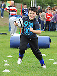 having fun at the Ardee Rugby Club open day. Photo: Colin Bell/pressphotos.ie