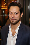 Skylar Astin attends the Broadway Opening Night performance of The Roundabout Theatre Company production of 'Time and The Conways'  on October 10, 2017 at the American Airlines Theatre in New York City.