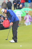 Liam Johnston (SCO) putts on the 17th hole during Saturday's Round 3 of the Dubai Duty Free Irish Open 2019, held at Lahinch Golf Club, Lahinch, Ireland. 6th July 2019.<br /> Picture: Eoin Clarke | Golffile<br /> <br /> <br /> All photos usage must carry mandatory copyright credit (© Golffile | Eoin Clarke)