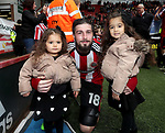 Kieron Freeman of Sheffield United during the English League One match at Bramall Lane Stadium, Sheffield. Picture date: April 17th, 2017. Pic credit should read: Jamie Tyerman/Sportimage