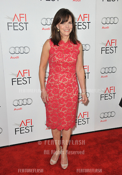 "Sally Field at the AFI Fest premiere of her movie ""Lincoln"" at Grauman's Chinese Theatre, Hollywood..November 8, 2012  Los Angeles, CA.Picture: Paul Smith / Featureflash"