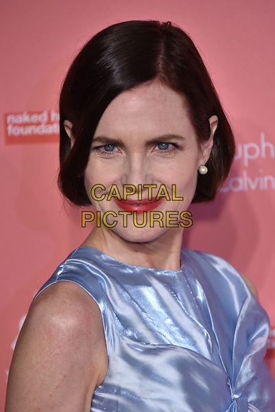 Elizabeth McGovern<br /> arrivals at London's Fabulous Fund Fair 2016 in aid of the Naked Heart Foundation at Old Billingsgate Market on 20th February 2016.<br /> CAP/PL<br /> &copy;Phil Loftus/Capital Pictures