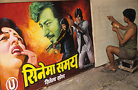 "Asien Indien IND Bombay .K?nstler im Atelier malen Kinoplakate f?r Bollywood Kinofilme - Kultur Kunst Kommunikation Malerei Kunstmaler Filmplakate Filmplakat Kinoplakat Plakatmalerei Werbung Werbeplakat Werbeplakate Filmindustrie Filmproduktion Kinos Kino Film Filme Spielfim Spielfilme Traumfabrik Schauspieler Inder indisch indische indischer Subkontinent bunt Farben Farbe farbig xagndaz | .Asia India Mumbai Bombay .Artists making cinema wallposter for Bollywood movies  - culture art painting motion picture movie filmindustry film production hoarding filmhoarder billboards advertising communication image images indian subcontinent color colour colorful image images making . | [copyright  (c) agenda / Joerg Boethling , Veroeffentlichung nur gegen Honorar und Belegexemplar an / royalties to: agenda PG   Rothestr. 66   D-22765 Hamburg   ph. ++49 40 391 907 14   e-mail: boethling@agenda-fototext.de   www.agenda-fototext.de   Bank: Hamburger Sparkasse BLZ 200 505 50  kto. 1281 120 178   IBAN: DE96 2005 0550 1281 1201 78  BIC: ""HASPDEHH""  , WEITERE MOTIVE ZU DIESEM THEMA SIND VORHANDEN!! MORE PICTURES ON THIS SUBJECT AVAILABLE!! INDIA PHOTO ARCHIVE: http://www.visualindia.net] [#0,26,121#]"