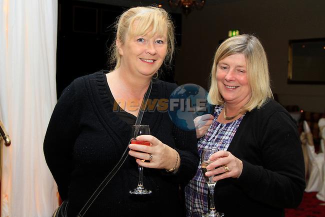 Boyne Valley Hotel Wedding fair.Nola Ingle and Paula Reid.Picture Fran Caffrey www.newsfile.ie